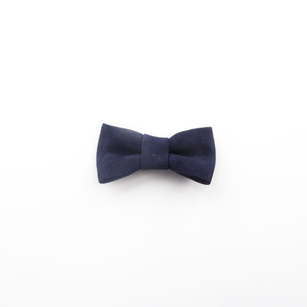 Navy blue upcycled decorations bows